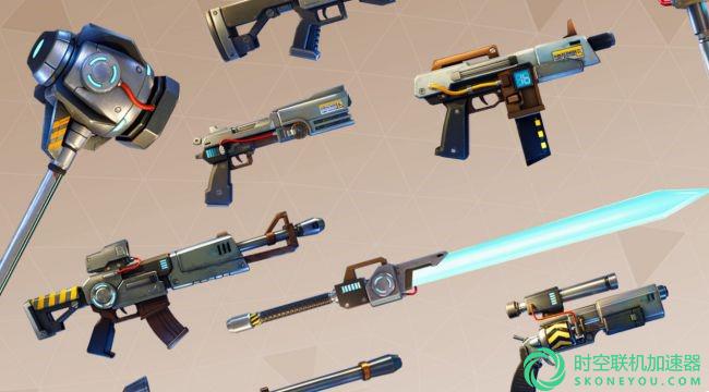 堡垒之夜将加入新武器