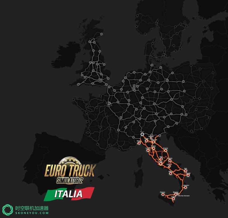 欧洲卡车模拟2 最新DLC发布:销量荣膺steam榜首