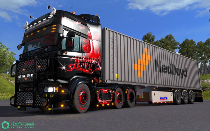 欧洲卡车模拟2飙车用什么加速器?