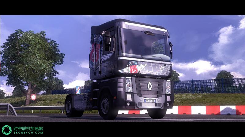 欧洲卡车模拟2联机用什么加速器好?