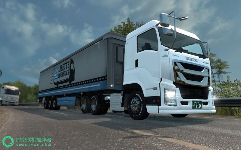 欧洲卡车模拟2管理模式用什么加速器?