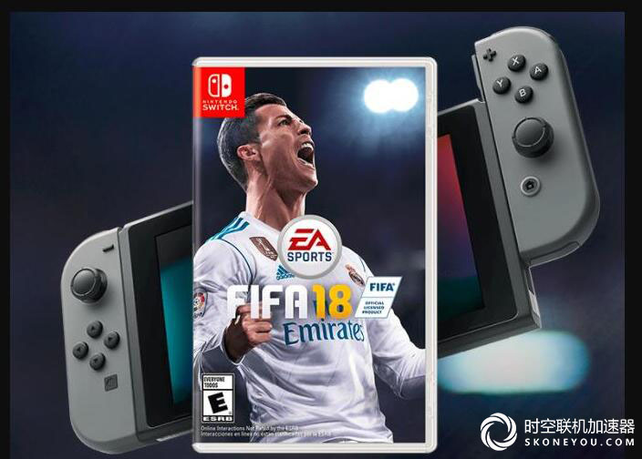 FIFA switch版C罗封面