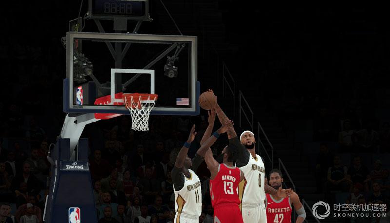 NBA 2K18比赛运球必备加速器