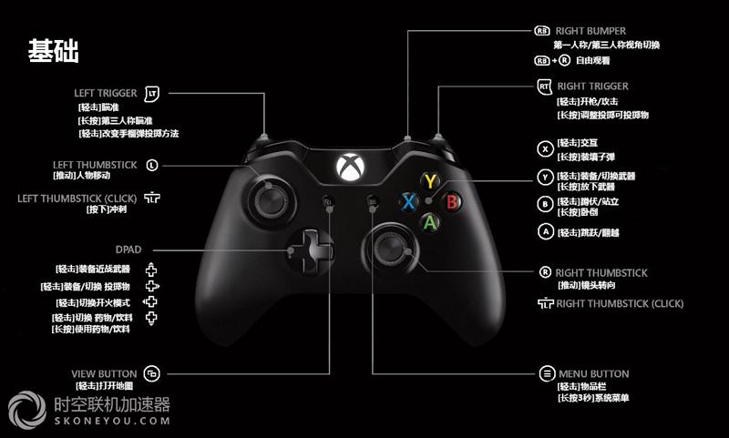 绝地求生Xbox1版首个补丁即将来临 操作技巧一览